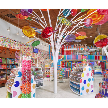 candy store furniture decorations candy shop interior design