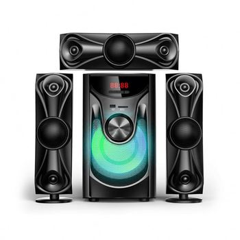 2021 Multimedia Audio Speaker 3D Blu Ray Theater 51 Sound Systems 3.1 Home Theatre System