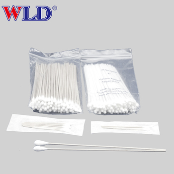 medical cotton swab individually packaged supplier