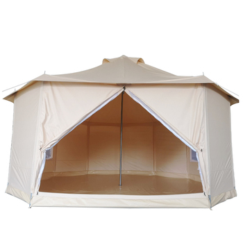 Waterproof canvas diy traditional bell tent dome mongolian yurts