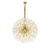 2020 new product ins net red dandelion chandelier modern Nordic living room dining room light luxury lamps
