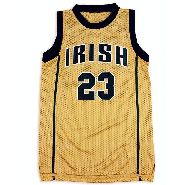 Mens Basketball Jerseys #23 Gold High School Custom Jerseys ...