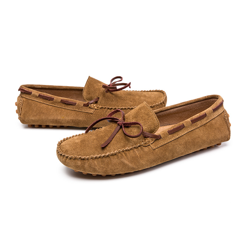 Mens Outdoor Leisure Slip On Driving Moccasin-gommino Casual Loafer Shoes Flat B