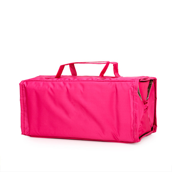 High quality blank travel makeup cosmetic case waterproof roll up toiletry bag