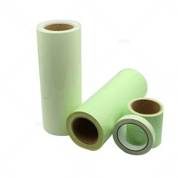 Screen Printing Available Glow In The Dark Fabric Emergency Exit Warning Photoluminescent Product As Film/Material/Tape
