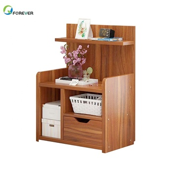 Nightstand Bedside Table Furniture Wood Morden Bedroom Side Table