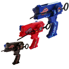 Bayblade Duotron Dual Launcher / Ripper BLACK/RED/BLUE WBBA Version
