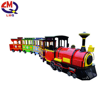 Hot Sale Amusement 24/40 Seats Kids Trackless Thomas Electric Train Ride Tour Train