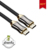 2020 Newest 19pin male to male HD 4K@60HZ 2160P 18Gbps Zinc Alloy Metallic case HDMI Cable