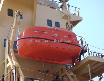 SOLAS Marine Free Fall Lifeboat And Platform Type Davit manufacture