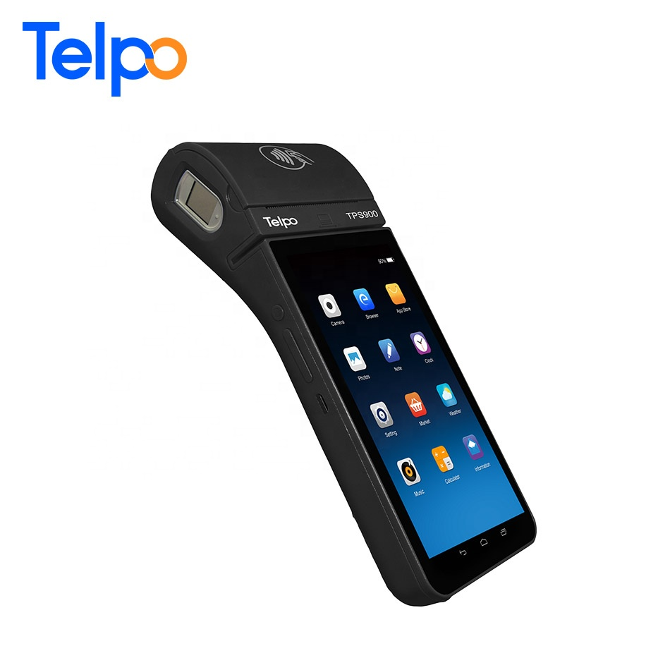 Android 7 Pci 7.7 Mobile Wireless Credit Card Machine Payment