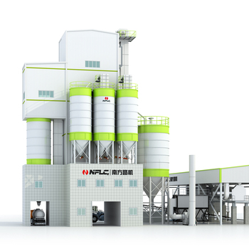 China new technology high efficiency simple dry mortar production line for tile adhesive mortar