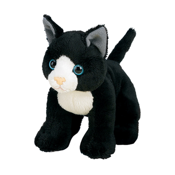 30CM Custom Black Cat Stuffed Animal Plush Toy