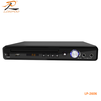 China Factory home use DVD player multi format Karaoke player