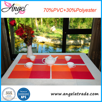 Eco-friendly factory price dinnerware table mats