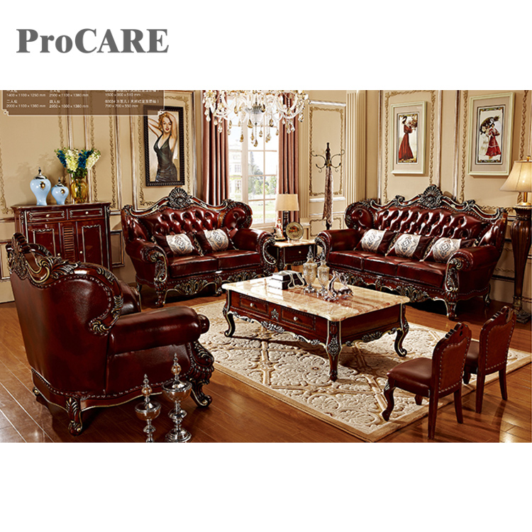 2020 New Designs Leather Wooden Sofa Set With Coffee Table - Buy Royal Design Dining Table Sets,Wooden Sofa Set Designs,Antique European Classic Living Room Furniture Product On Alibaba.com
