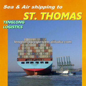 free sample international shipping to Charlotte Amalia of ST. THOMAS from Shanghai Ningbo