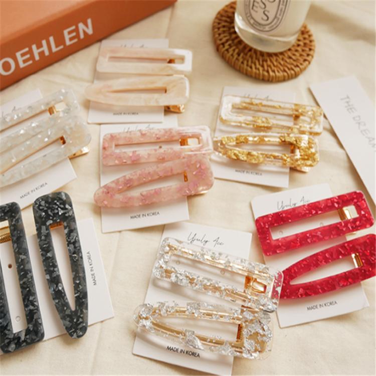Acrylic Hair Clip Resin Hair clip Barrettes For Women,Hair Accessories,Clips Barrettes For Thick Hair,hair barrette,Korean Hair Clip