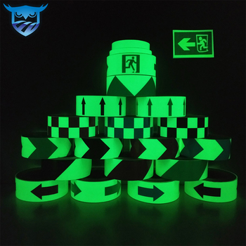 glow in the dark green products adisive tape foil vinyl roll folie for car
