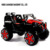 Big size plastic material ride on toy car with early education and music