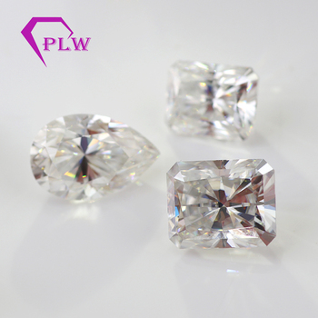 wuzhou provence gems wholesale DEF moissanite for ring making
