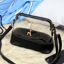 hot sell shell shapeTransparent PVC Lady Handbag PU Leather Crossbody Shoulder <strong>Bag</strong>