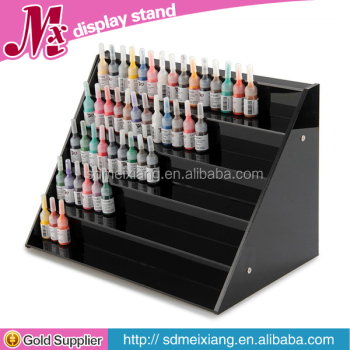 MX-WCM057 single side opi nail polish display rack / nail polish floor standing rack display