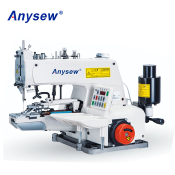 AS373DD Button Attach Sewing Machine Button Attaching Machine Button Sewing Machine Used For Shirt
