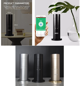 Commercial WIFI App Electric aroma diffuser No Water scent air diffuser with fragrance oil
