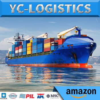 DDP door to door air Sea freight forwarder China to USA Europe FBA Amazon shipping agent