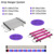 48 inch best spectrum hydro agricultural wholesale 6500k no fan built-in timer strips led grow light bar for lettuce