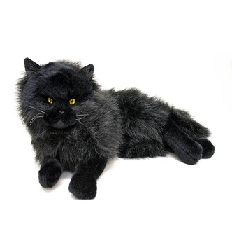 wholesale soft customize lying stuffed animals black cats
