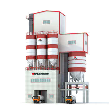 Energy saving high efficiency automatic dry mix mortar production line for road construction