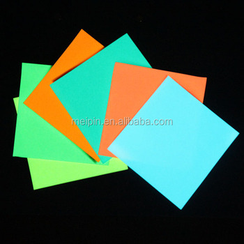 Fluorescence sheet/Photoluminescent glow in the dark products