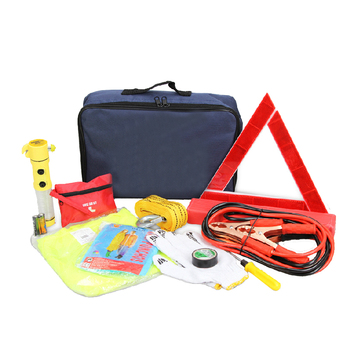 Wholesale high quality auto safety kit roadside car emergency with supplies