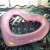 newest custom hot selling adult swimming heart ring float inflatable float pool ring beach toy