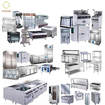 Industrial Hotel Fast Food Restaurant Buffet Commercial Kitchen Equipment