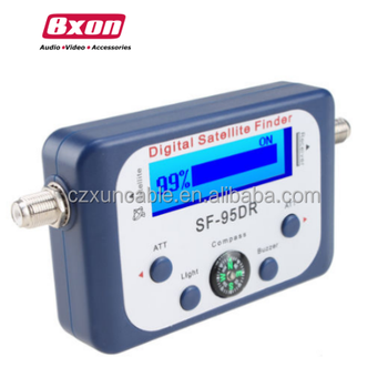 Bxon SF-95DRL Digital satellite signal meter Finder Dish network dish with compass