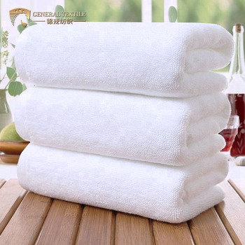 Pure 100 Cotton 570gsm White Egyptian Cotton Bath Hand Towel for Hotel Sport SPA