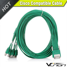 Cisc0 Octal Cable - <strong>1</strong> <strong>x</strong> HD-68 Male SCSI - 8 <strong>x</strong> RJ-45 Male - CAB-HD8-ASYNC