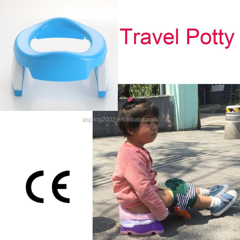 Children Potty Portable Foldable Travel Potty Seat Toilet Seat For Toddler Potty Training Go Travel Potties