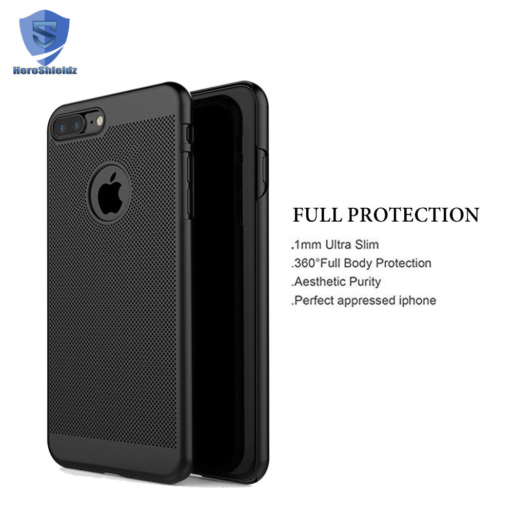 360 Degree Full Body Case For Iphone 7 Plus,Heat Radiation Ultra Thin Hard Pc Coverage Case 360 With Glass Screen Protector - Buy Case 360,Full Body ...