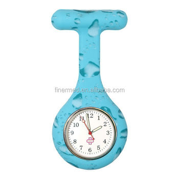 silicone fob watch for nurses