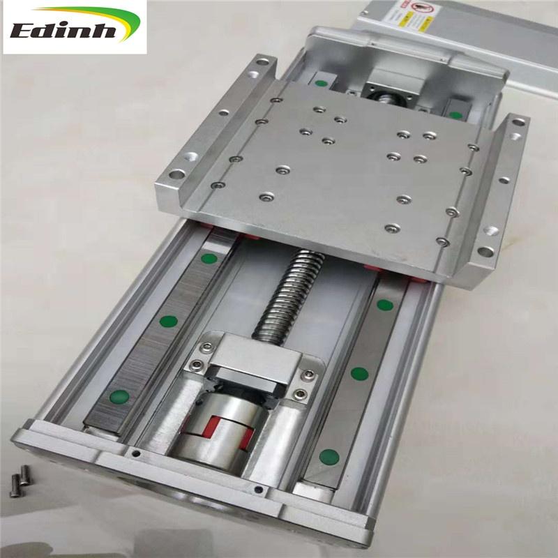 Nema17 42 Stepper Motor 0808 Ball Screw Long Stage Actuator Guide Rail KONGZIR Ball Screw Guide Rail 300mm