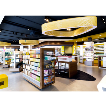 Retail Pharmacy Furniture Shop Interior Design,Pharmacy Store Shelves Decoration