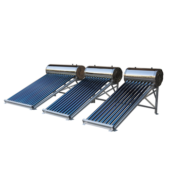 Popular Compact Unpressurized Mini Solar Water Heater