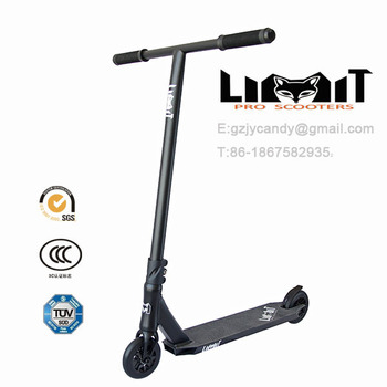 MGP scooter adult black pro scooters HIC stunt scooter