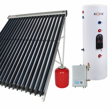 Slogan Split High Pressure Pump System Solar Water Heater
