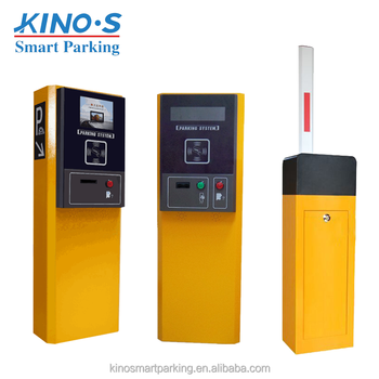 Hot sell entry ticket machine car parking management auto parking system with software