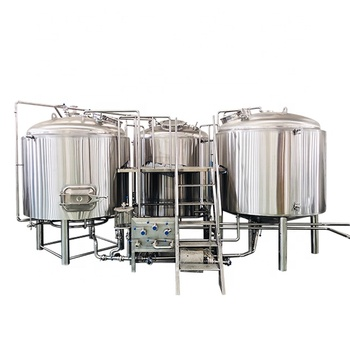 Customized Beer Brewing Equipment Mash System 15bbl Turnkey Project For Craft Beer Making